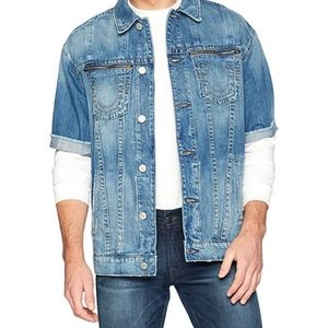 True Religion Short Sleeve Denim Turner Jacket